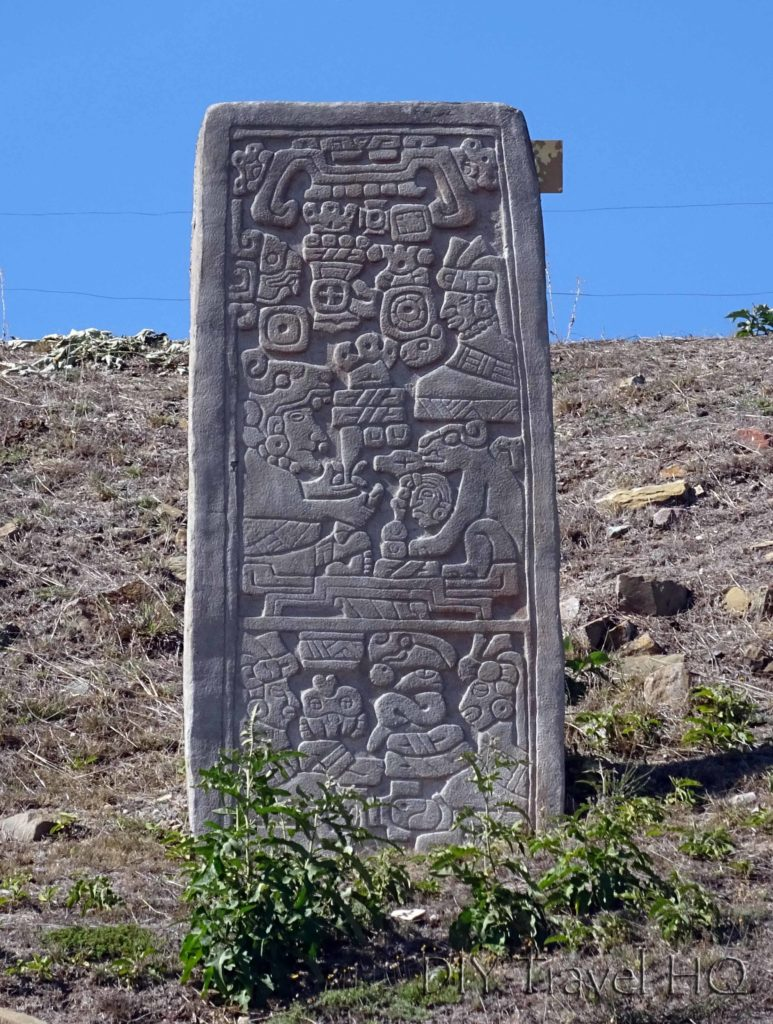 Monte Alban Ruins The VG Complex Stela