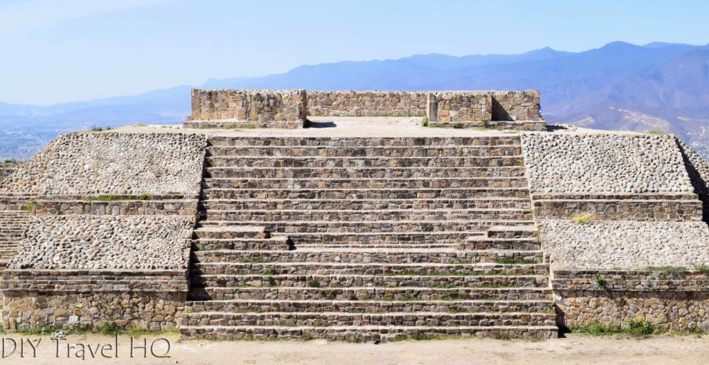Monte Alban Ruins the VG Complex North Temple