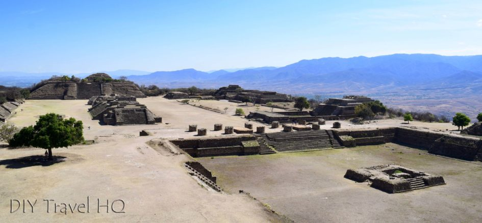 Monte Alban Ruins the VG Complex South Temple View