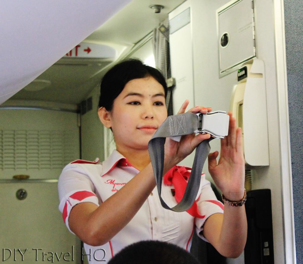 Flight attendant Myanmar Airways