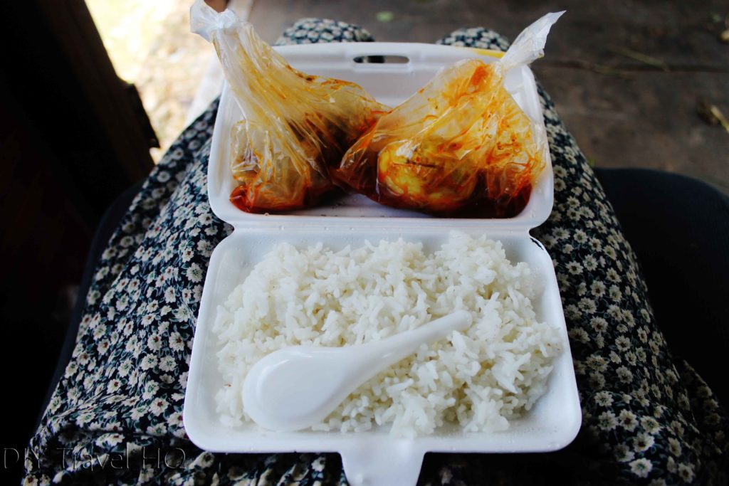 Train food in Myanmar