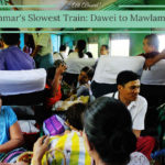 Myanmar's Slowest Train: Dawe /> Mawlamyine