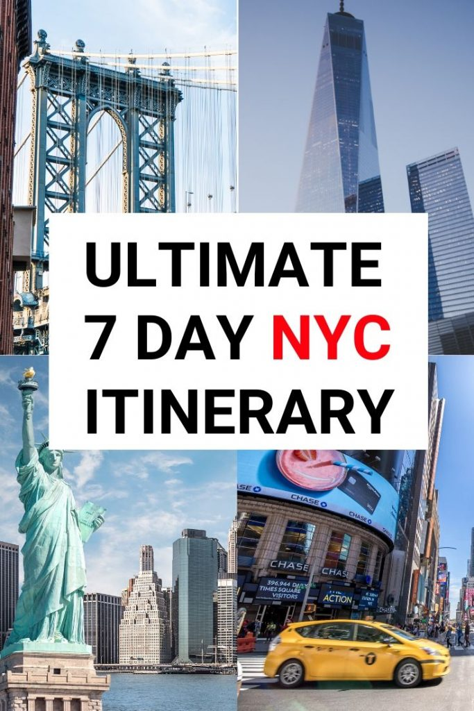 Want to spend 1 week in New York? Find out the best things to do in New York and how you can see every top attraction & NYC museum for under $100! #newyork #nyctravel