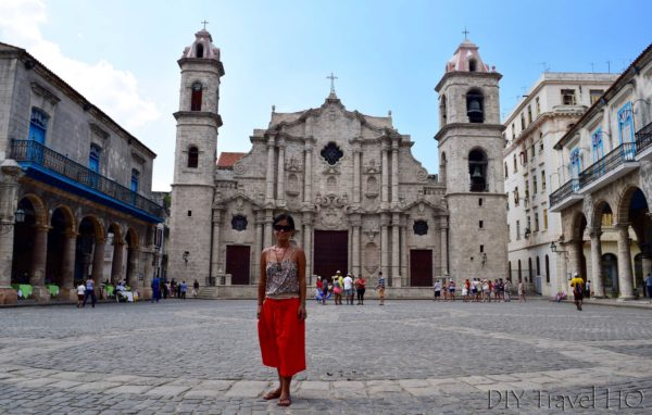 Old Havana Plaza de la Catedral and Sheena