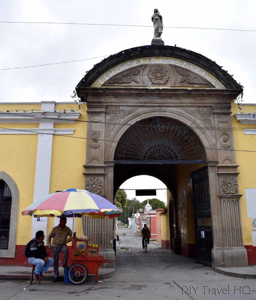 Quetzaltenango (Xela) El Calvario Cemetery Entrance