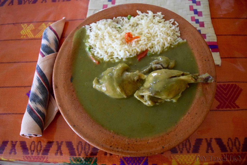 Quetzaltenango (Xela) Jocon Dish