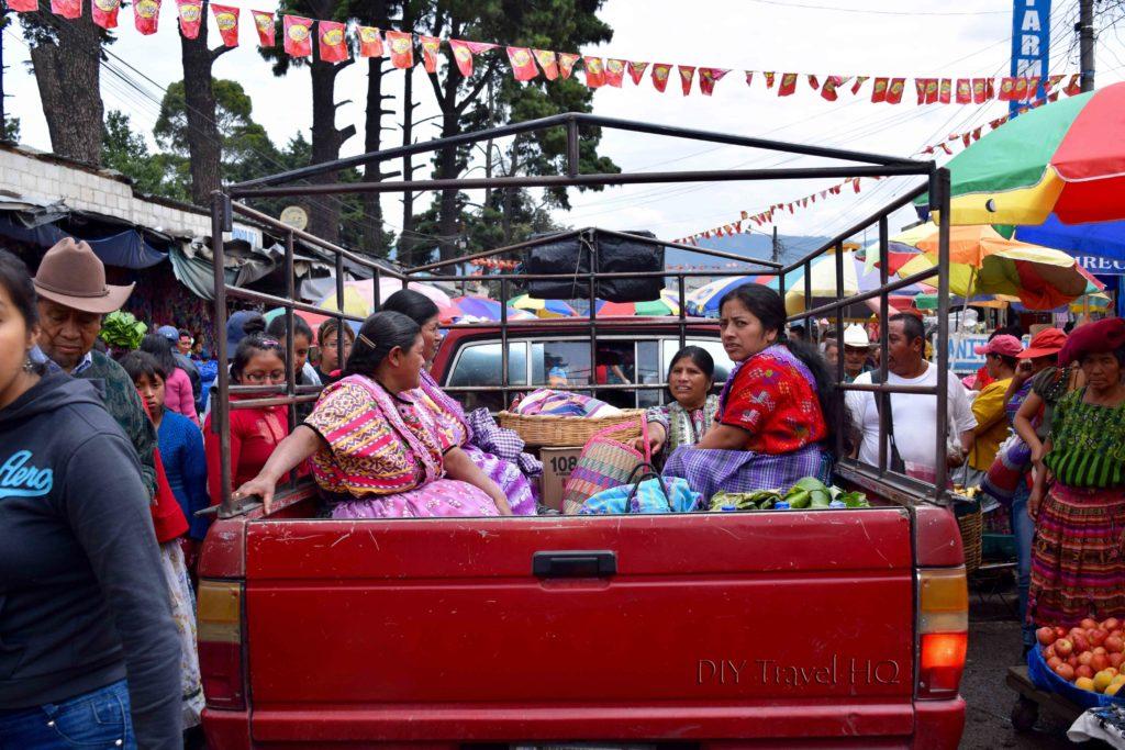 Quetzaltenango (Xela) Minerva Market Truck
