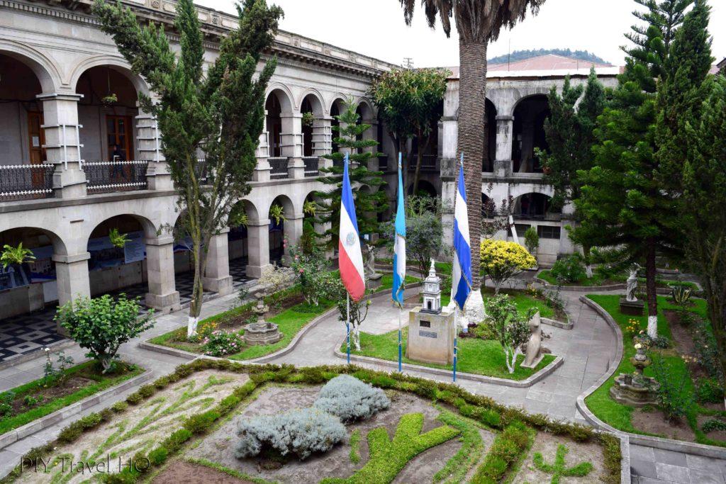 Quetzaltenango (Xela) Municipalidad Grounds