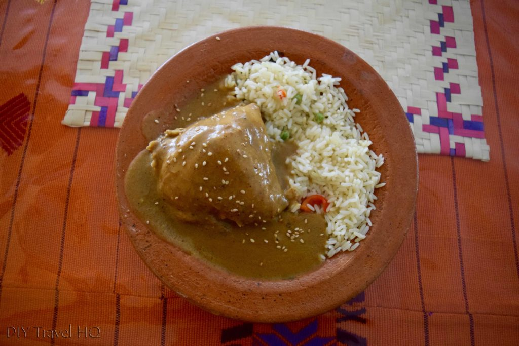 Quetzaltenango (Xela) Pepian Dish