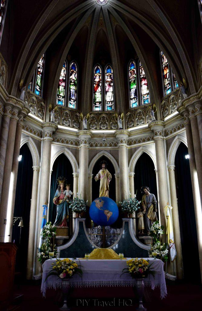 Quetzaltenango (Xela) San Nicolas Church Altar