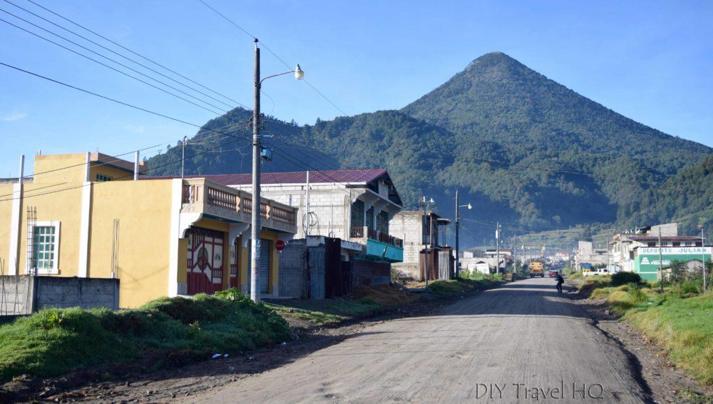 Road to Volcan Santa Maria