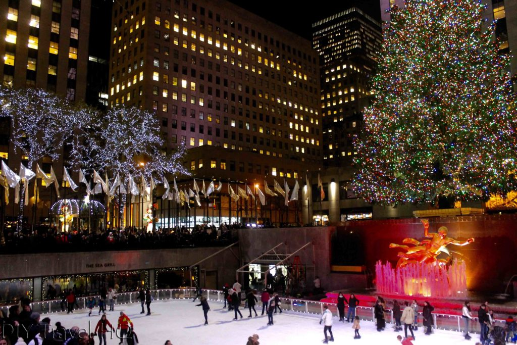 Ice Skating at Rockefeller Centre