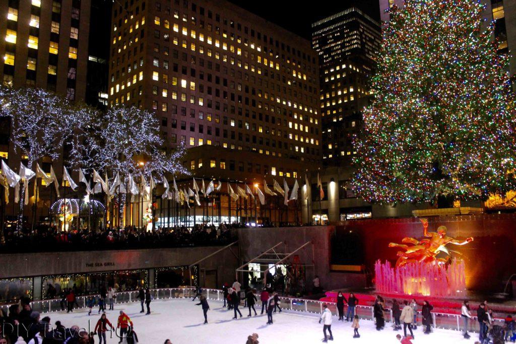Ice Skating at Rockefeller Centre