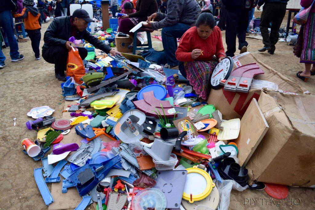San Francisco El Alto Market Lost Toy Pieces
