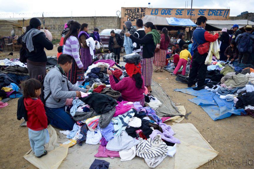 San Francisco El Alto Used Clothes Frenzy