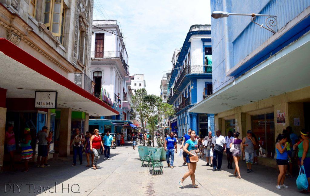 El Bulevar in Havana