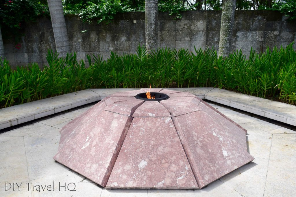 Eternal Flame in Che Mausoleum