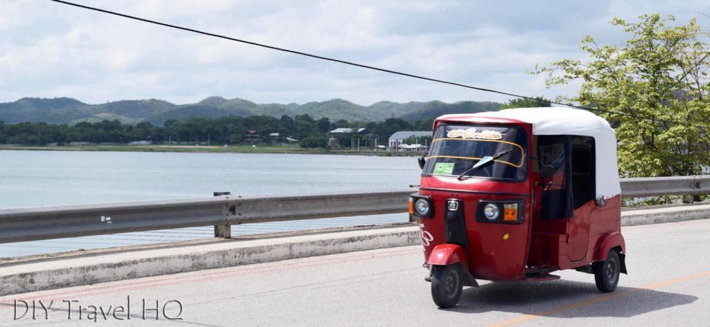 Santa Elena to Flores Tuk-Tuk