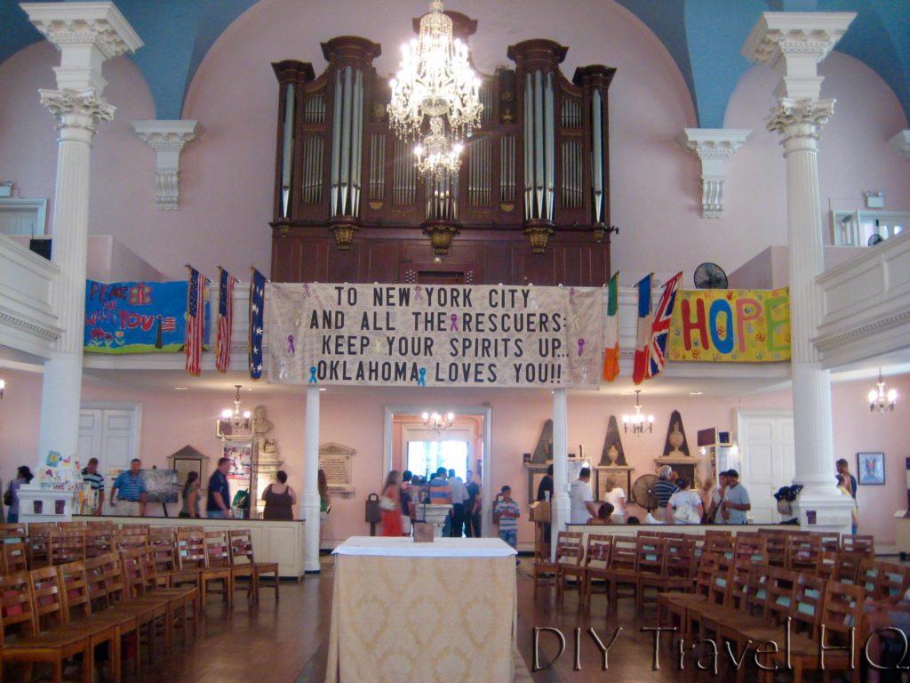 St Paul's Chapel in 2008