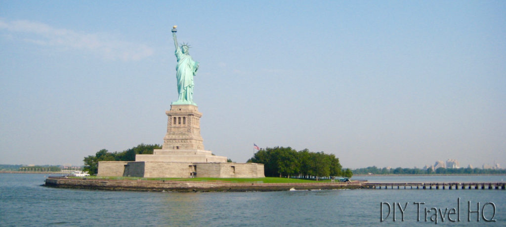 Ferry view of Statue of Liberty