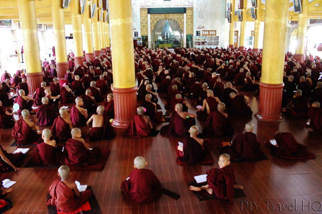 Kha Khat Wain Kyaung hall