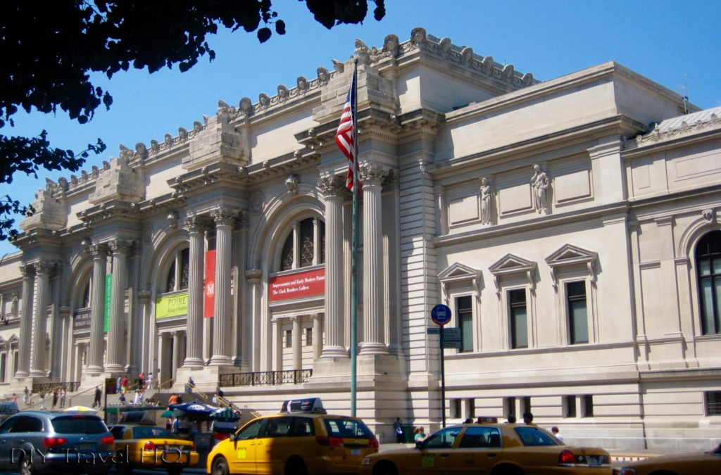 The Met Building Entrance