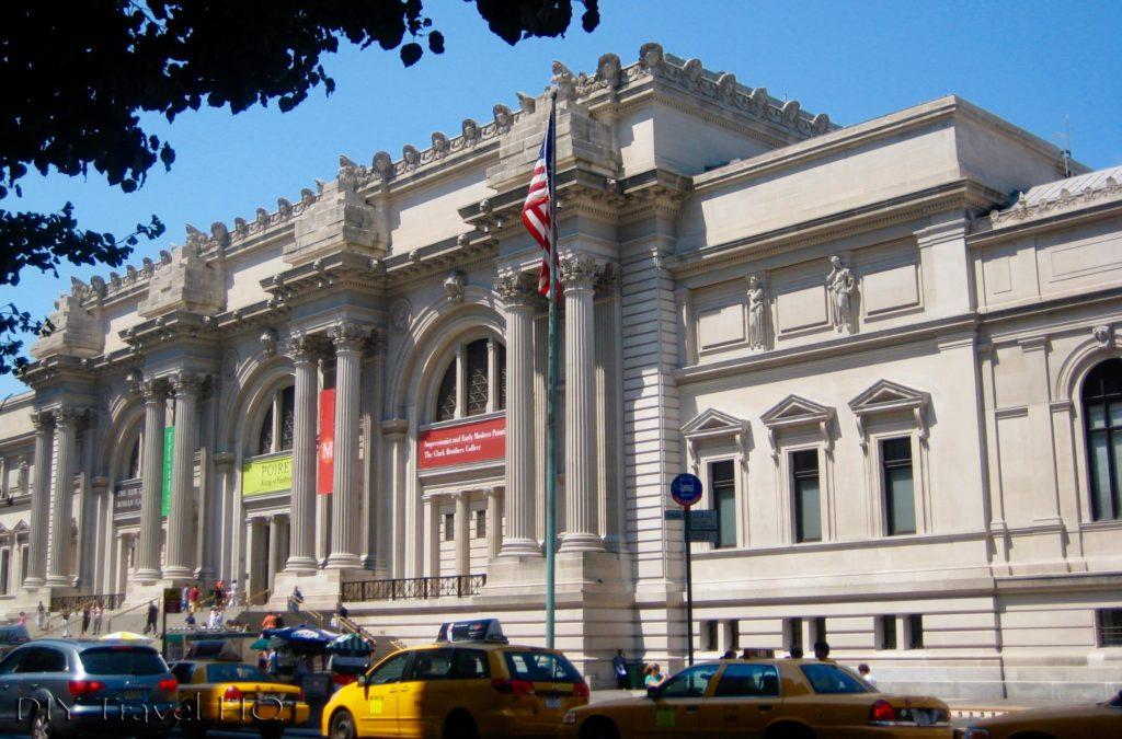 The Met Building Entrance