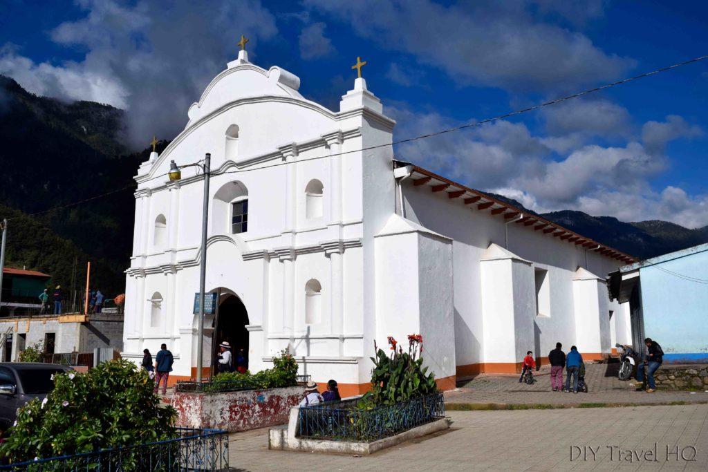 Todos Santos Cuchumatan Church Exterior