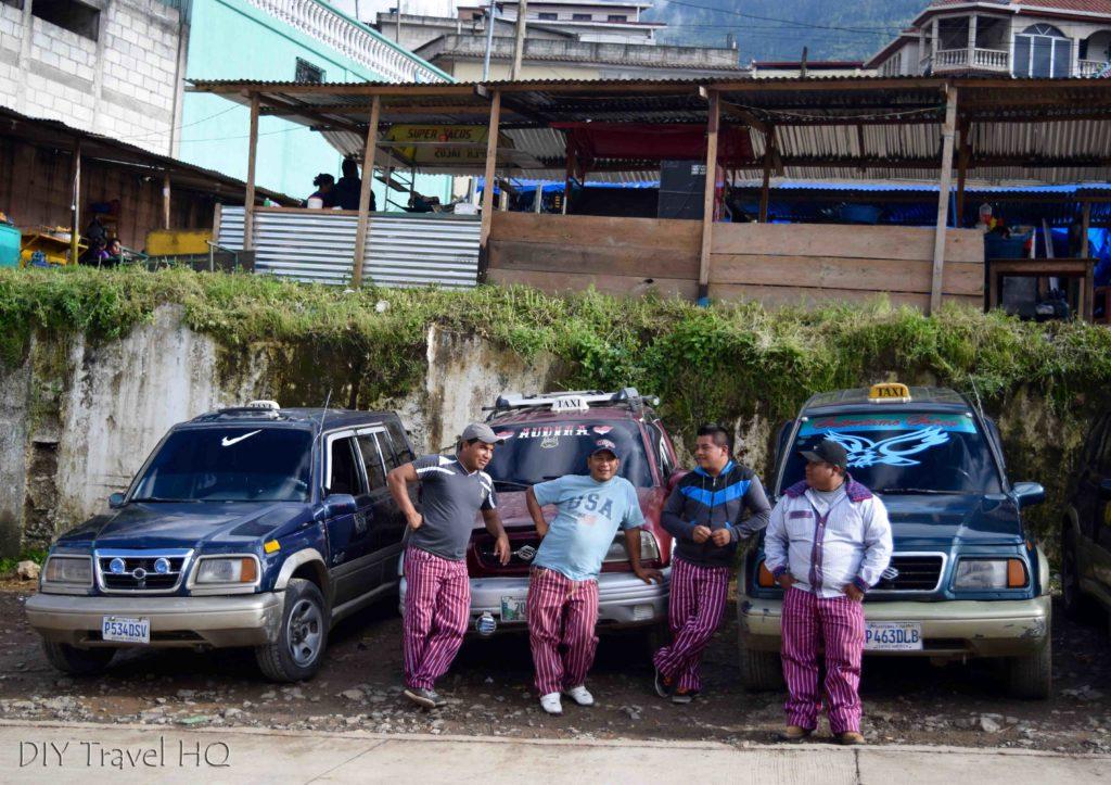 Todos Santos Cuchumatan Taxi Drivers