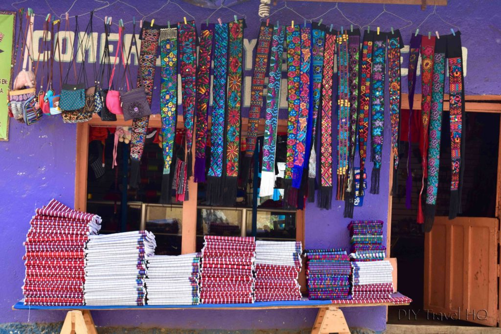 Todos Santos Cuchumatan Traditional Clothing Shop