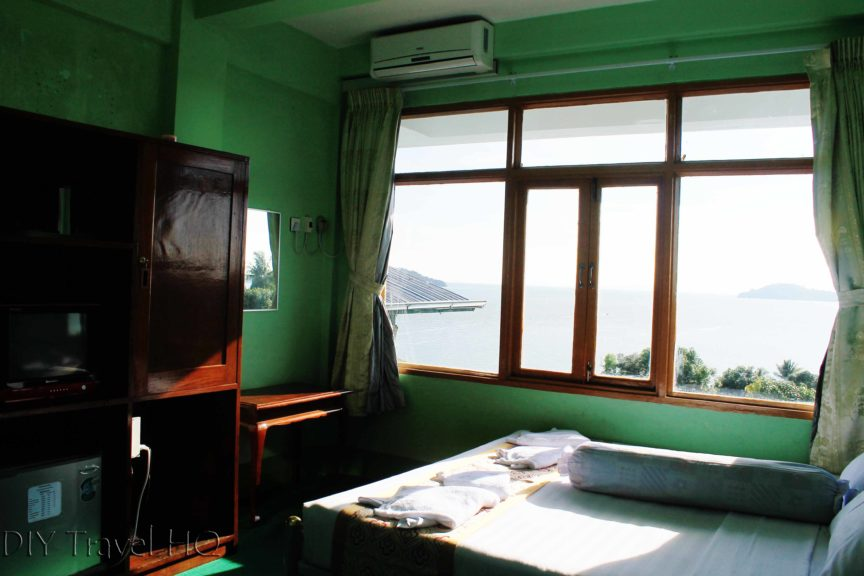 Hotel room in Kawthaung