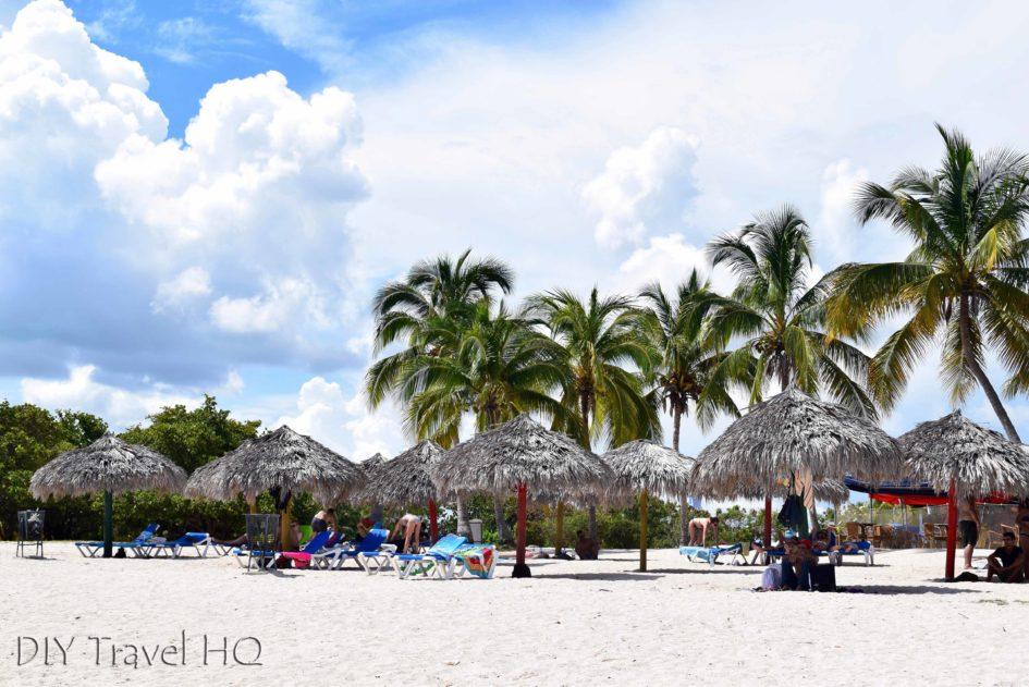 Playa Ancon beach in Trinidad