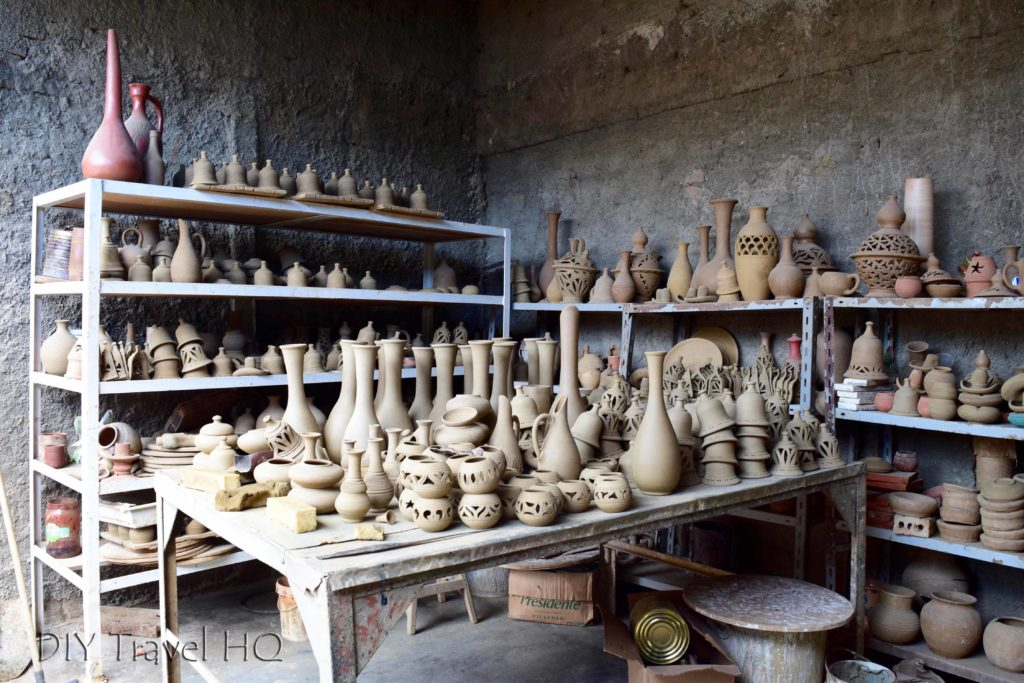 Taller Alfarero pottery studio