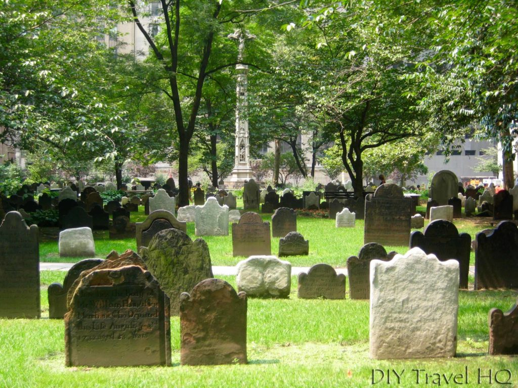 Cemetery at Trinity Church