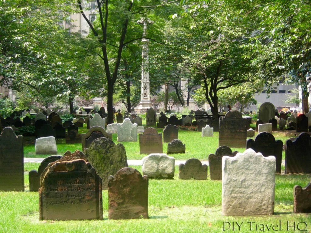 Cemetery at Trinity Church