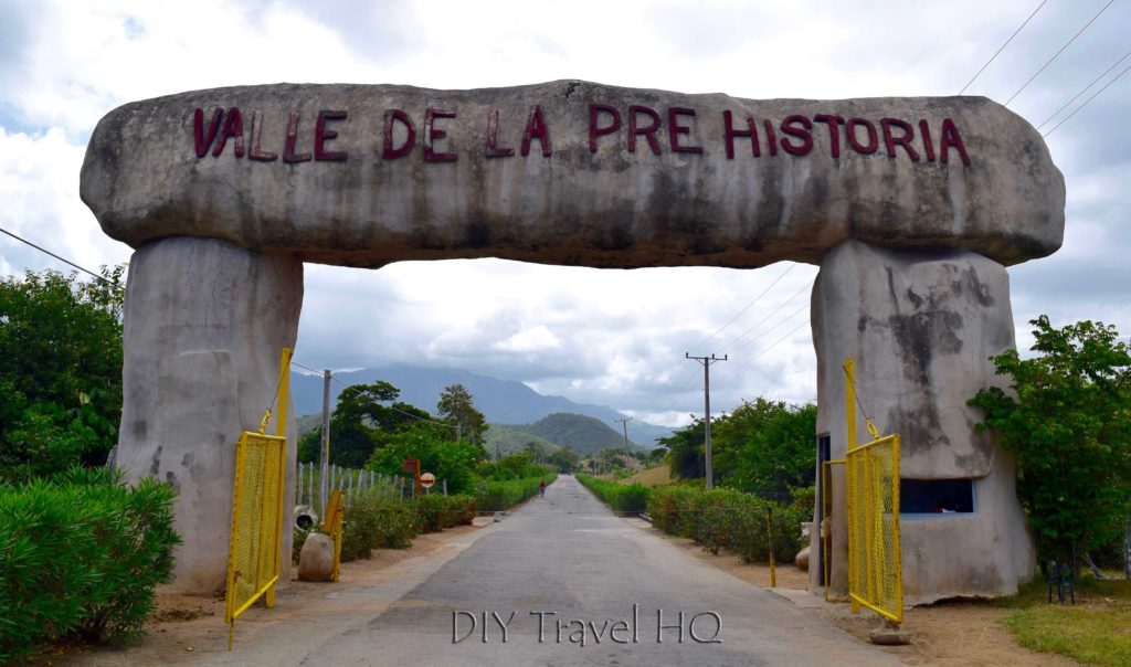 Valle de la Prehistoria Entrance