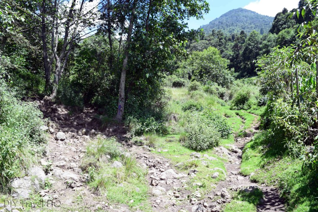 Volcan Santa Maria Confusing Path