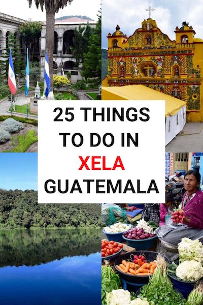 There are so many things to do in Xela - aka Quetzaltenango! Check out our Xela, Guatemala travel guide for info on attractions food accommodation & transport to help you plan your trip #xela #quetzaltenango #guatemala