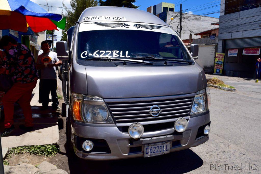 Xela hike to San Martin (Laguna Chicabal) Colectivo
