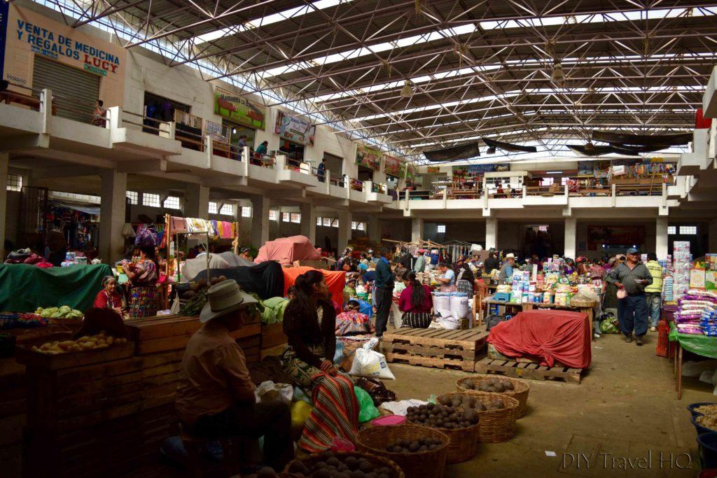 Zunil Daily Market Interior