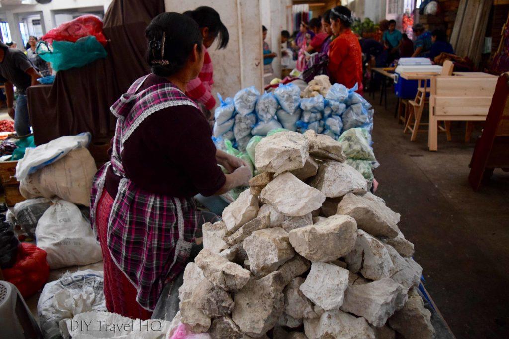 Zunil Market White Rocks
