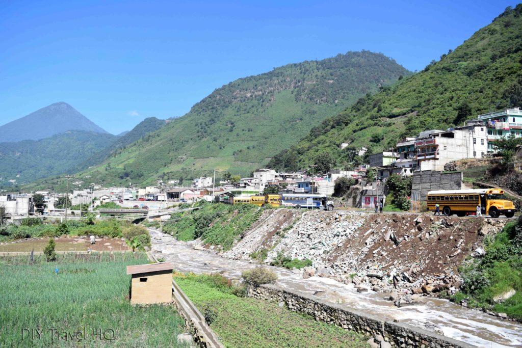 Zunil to Quetzaltenango (Xela) Chicken Bus