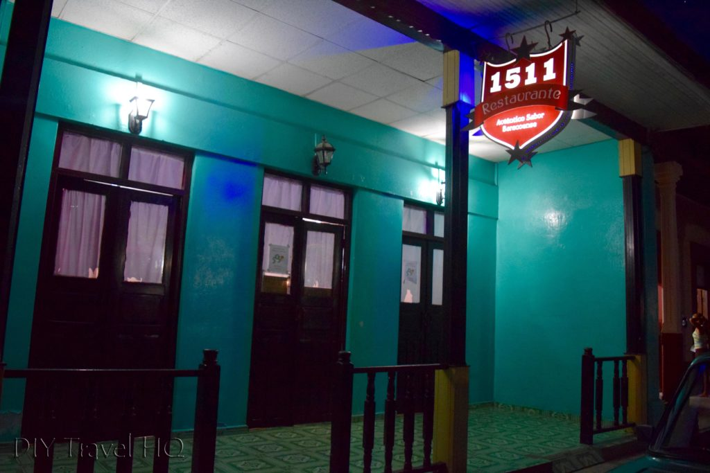 1511 Government Restaurant Baracoa