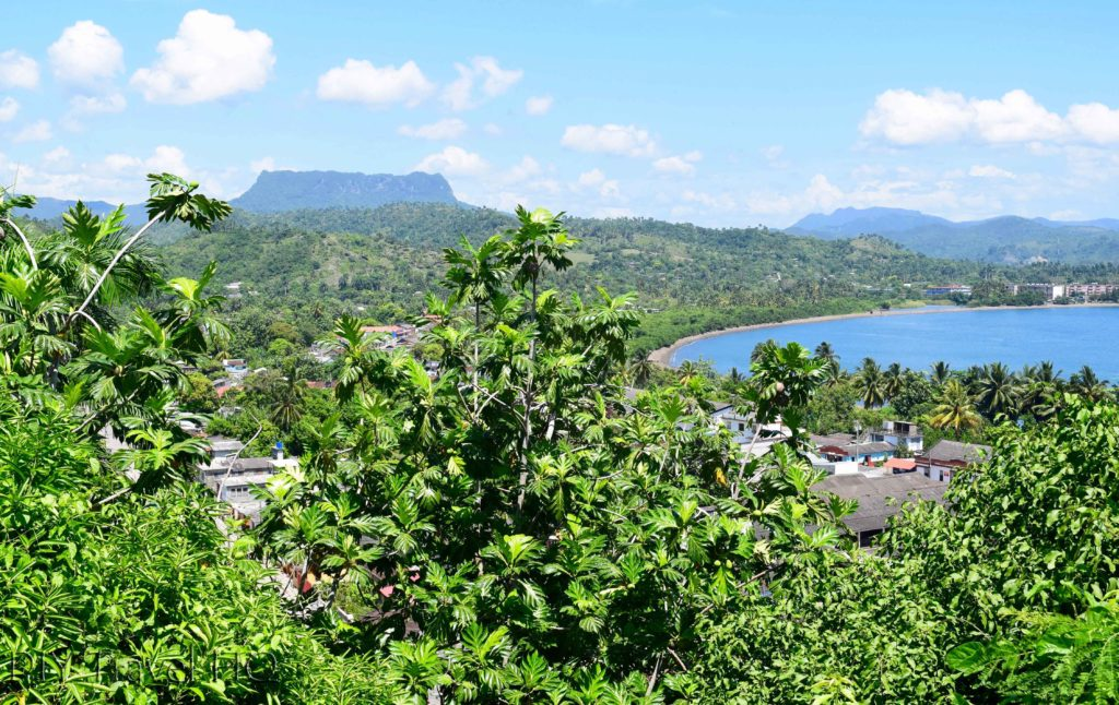 View of El Yunque from hotel
