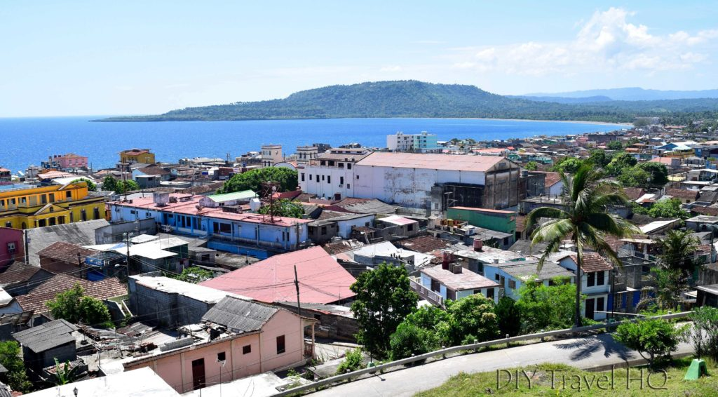 View of Baracoa town