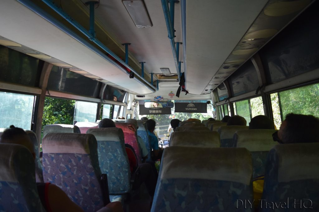 Bus to Baracoa