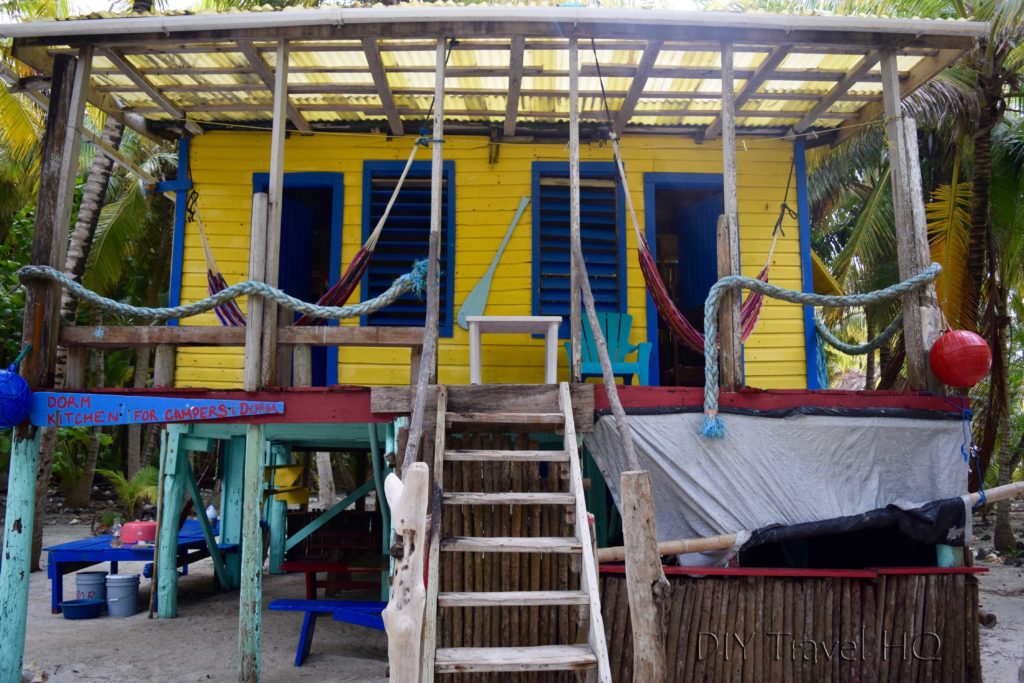 Dorm cabin on Glovers Atoll