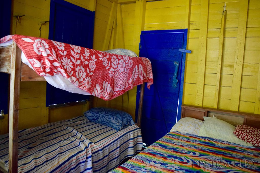 Dorm room on Glovers Atoll