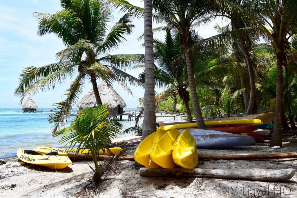 Kayaks for rent on Glovers Island