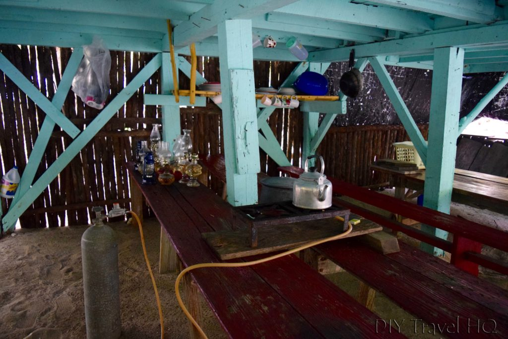Kitchen on Glovers Atoll Resort